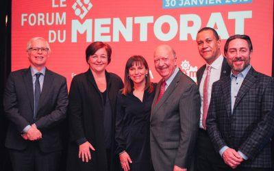 Première édition du Mois du mentorat : Un engouement au-delà des attentes