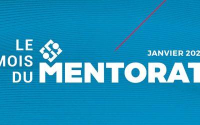 Janvier est le mois du mentorat