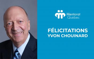 Distinction Fellow : Toutes nos félicitations à Monsieur Yvon Chouinard!